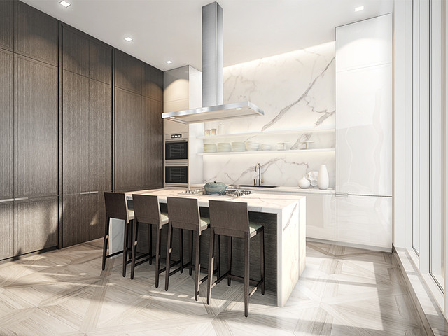 206 Bloor Street W Toronto Kitchen Toronto Luxury Mansions